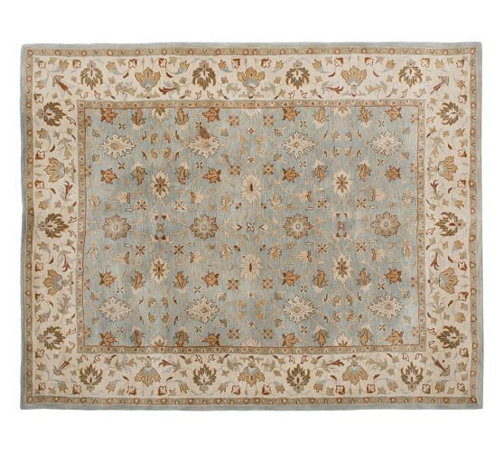 Malika Persian-Style Rug | Pottery Barn | 8' x 10' - $599 + delivery surcharge $25 + shipping?
