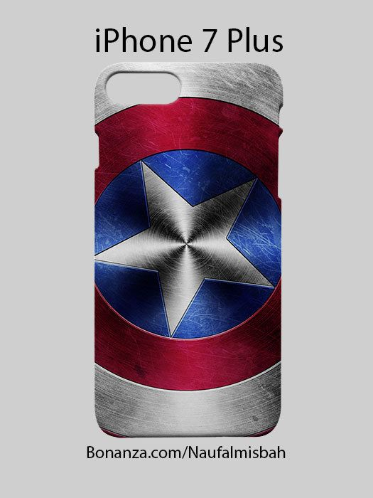 Captain America Shield iPhone 7 PLUS Case Cover Wrap Around