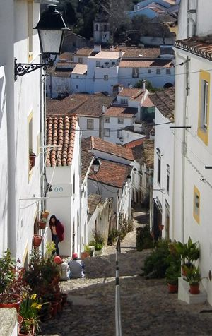 In the Jewish Quarter of Castelo de Vide