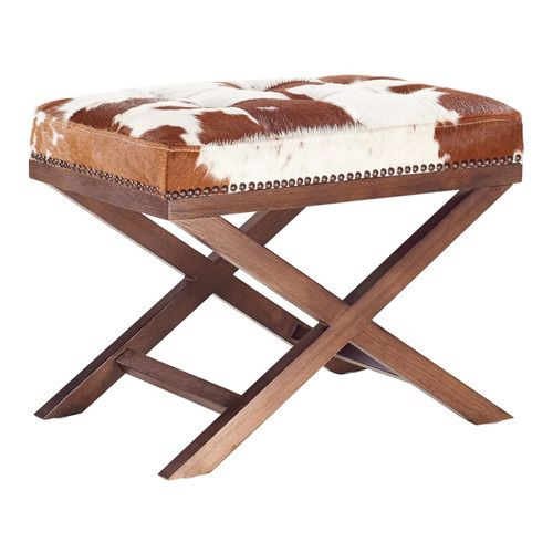 Found it at Joss & Main - Harold Cowhide Ottoman