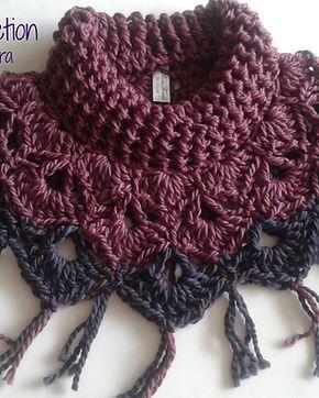 Arte Crochet Perú - Capa/Cuello