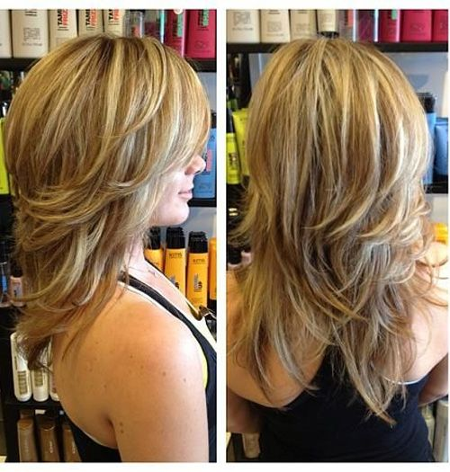 Medium Layered Hairstyles 2016 - Top 13 Most Demanding Medium Ombre Hairstyles for Women with Cutest Hair Color Ideas.