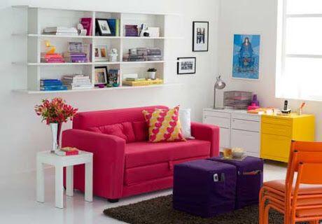 Me apaixonei por esse sofá!