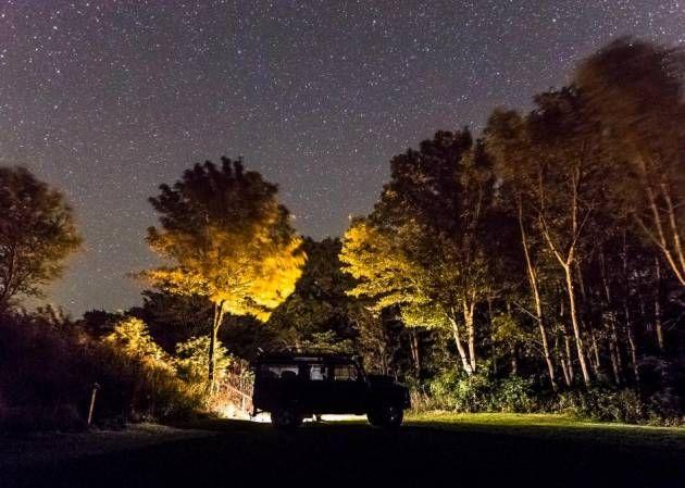 Stjernevæld. I nogle byer er lysforureningen så massiv, at nattehimlen stort set er uden stjerner. På Møn er en række lokale gået sammen om at bevare nattemørket. Er vejret klart, kan man se et væld af stjerner, galakser og andre astronomiske fænomener.