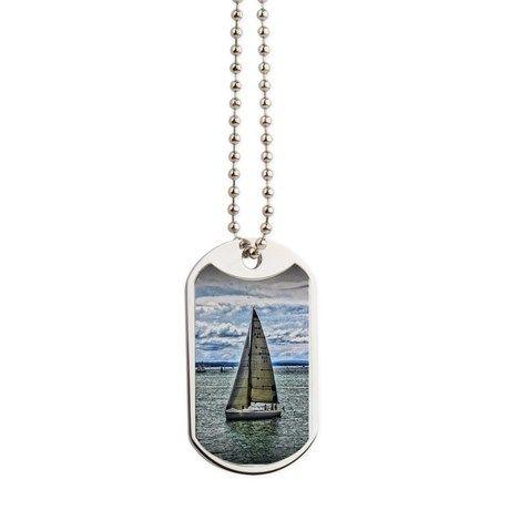 Yacht Dog Tags by AngelEowyn. $22.50