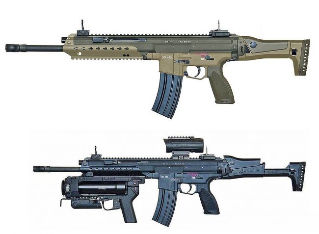 Heckler & Koch HK433: Bundeswehr's next assault rifle (?)