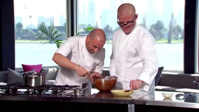 MasterChef Australia Heston's MasterClass: Chocolate Mousse