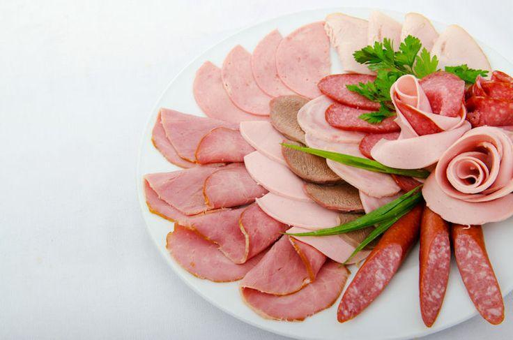 schotel met vleeswaren