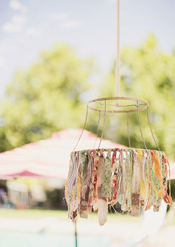 I want to make this little decoration. I feel a goodwill trip is in need for a lampshade.