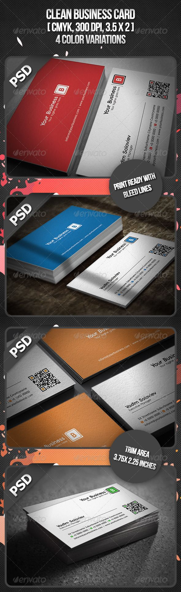 122 Best Business Cards Designs Images On Pinterest Business Card