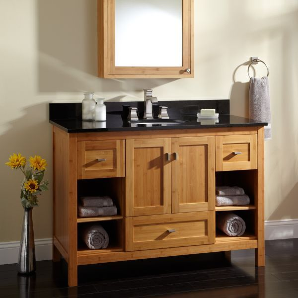 Bamboo Bathroom Vanities 11 best images about bamboo bathroom on pinterest | medicine