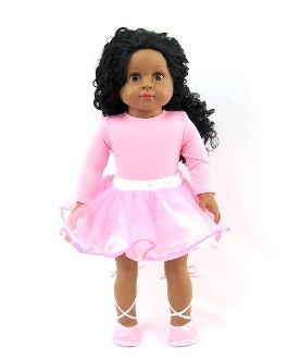 "* 18"" Girl Doll Virginia in Outfit"
