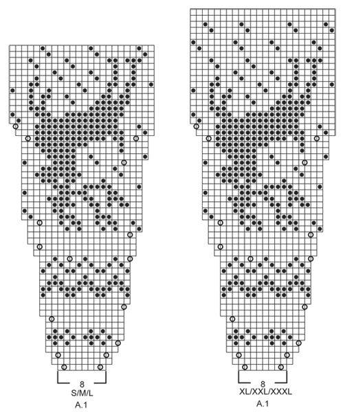 """DAMSKY SVETER - DROPS pulovr s kruhovým sedlem a vyplétanými soby, pletený shora dolů z příze """"Karisma"""". Velikost: S-XXXL. ~ DROPS Design"""