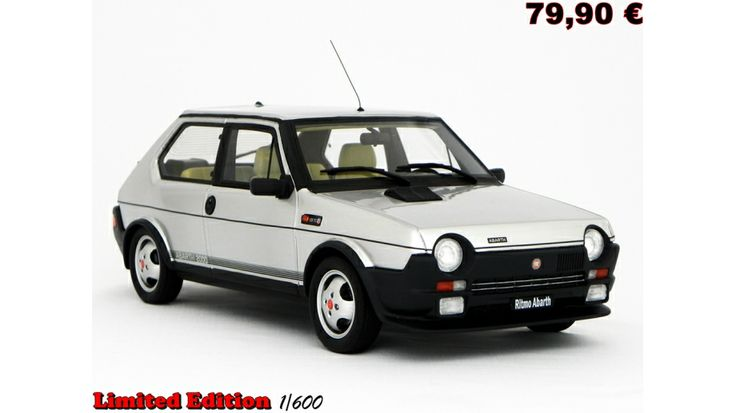 Fiat Ritmo 125 TC Abarth 1:18 LM089/B - Laudoracing Models Sarl