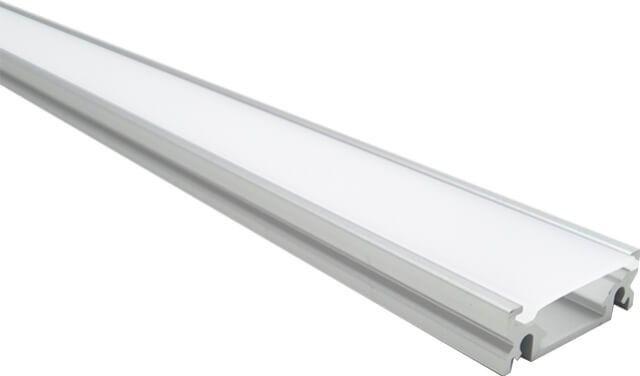 In cazul in care va doriti montarea unei benzi LED 12V mai lata, PROFILUL ALUMINIU SLIM MAT APLICAT 100CM este accesoriul pe care il cautati. Datorita latimii ample se mareste suprafata de difuzare a luminii. Pachetul contine dispersorul alb mat si accesoriile de prindere.