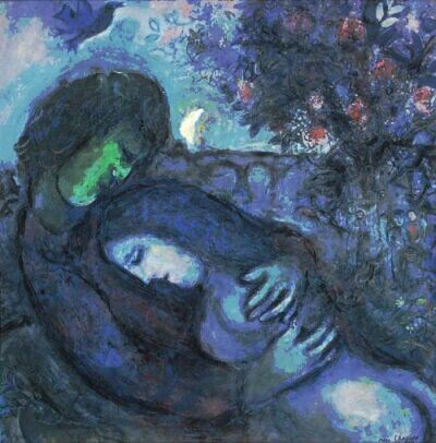 Lovers Chagall