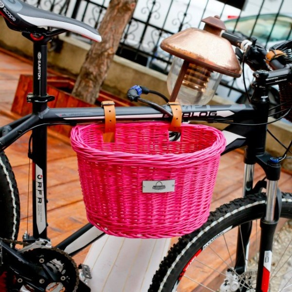 Elegance, style and charm can bring our bicycle using a woven basket. By simply attaching the basket to the bike, you can easily carry your favorite fruit or pet in any trip.Size:Height: 20 cmLength: 33 cmWidth: 24 cm