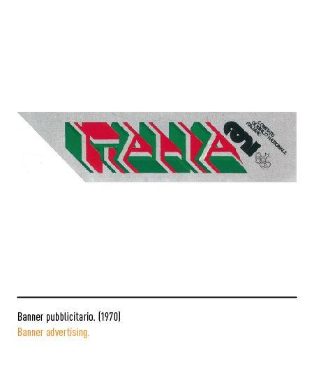 Marchio Coni - Banner pubblicitario 1970