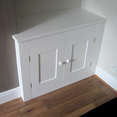 diy alcove cupboard doors 2