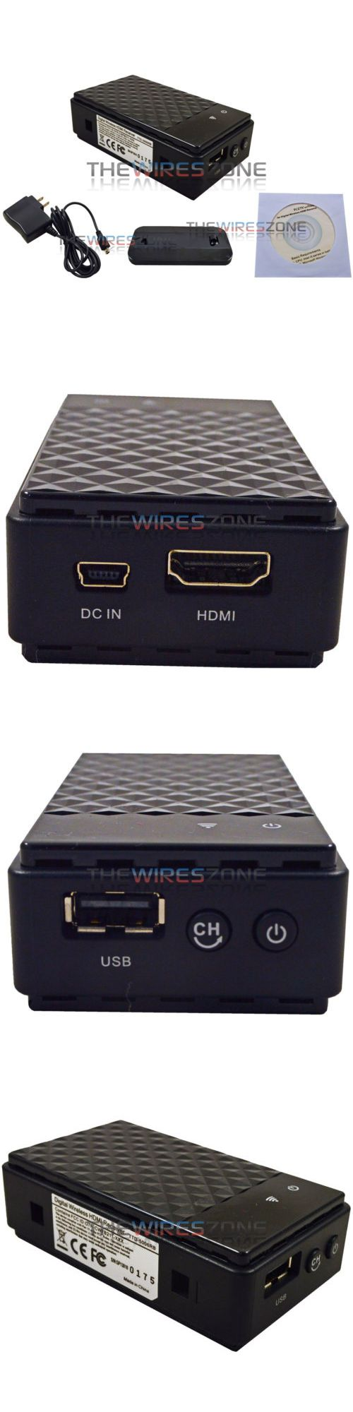 Audio Video Transmitters: 1080P High Definition Hd Pc Or Laptop To Tv Television Hdmi Wireless Receiver -> BUY IT NOW ONLY: $79.95 on eBay!