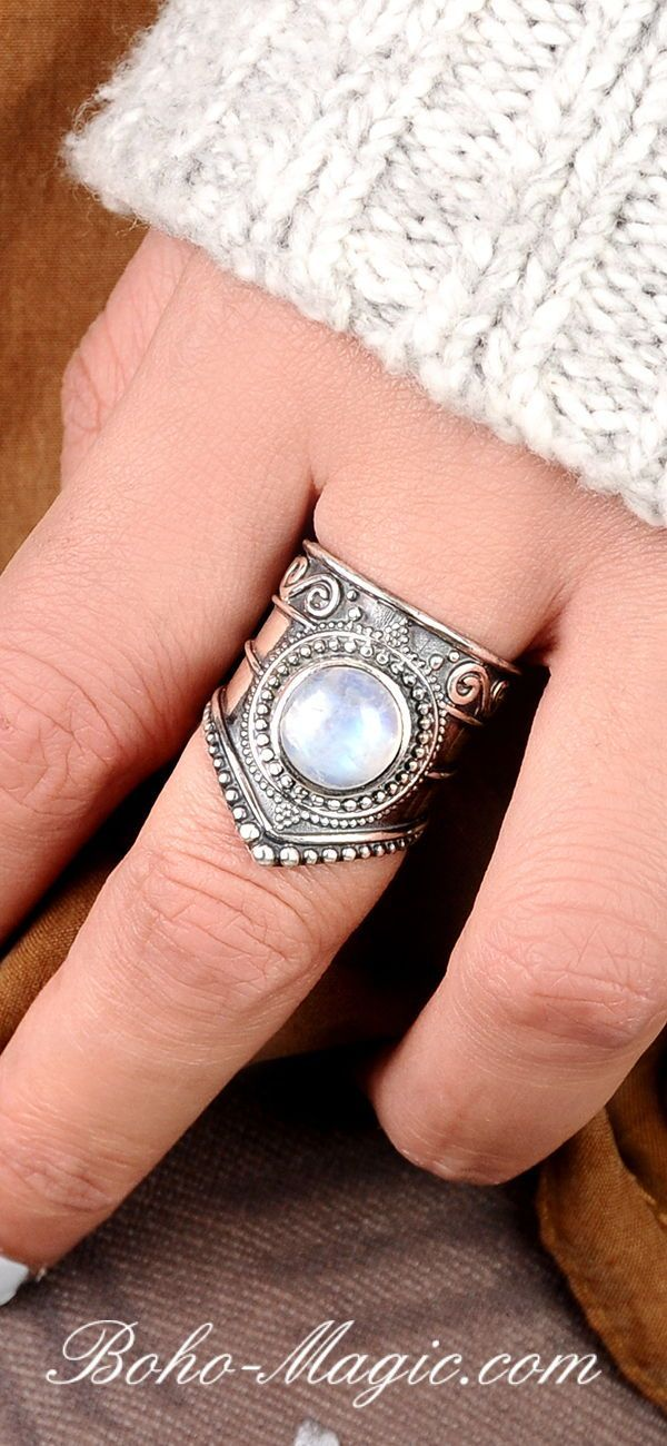 Jewelry Boho Moonstone Ring, Sterling Silver Ring for Women, Statement Ring with Stone,Birthstone Gemstone Ring, Bohemian Wanderlust Jewelry Rainbow Moonstone ring, Boho rings, Sterling Silver Ring Women, wanderlust bohemian jewelry, V ring, statement rings, unique silver rings, simple ring, handmade rings, Moonstone gemstone, Moonstone silver ring, Moonstone jewelry, blue Moonstone, – rings-moonstone