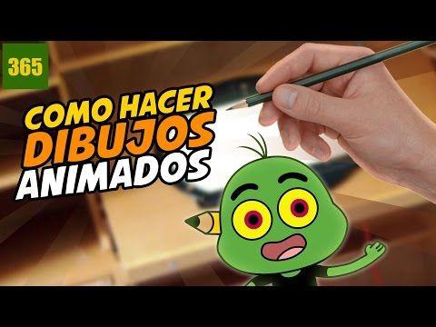 COMO HACER DIBUJOS ANIMADOS - CREA TU PROPIO PROYECTO DE ANIMACION - PARTE 1 - YouTube
