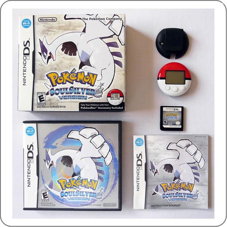 DS Pokemon SoulSilver + Pokewalker - Frete Grátis - Game Quest Store
