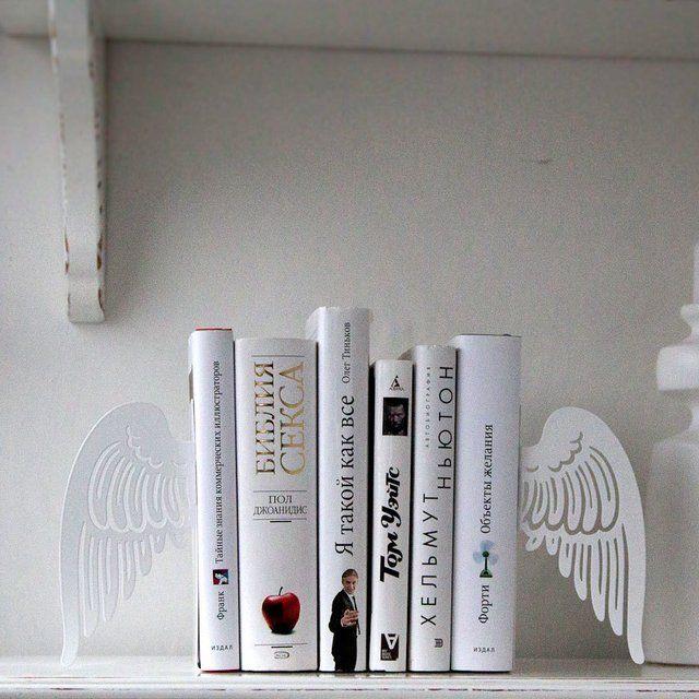 Angel Wings Bookends  zoffy + 4448