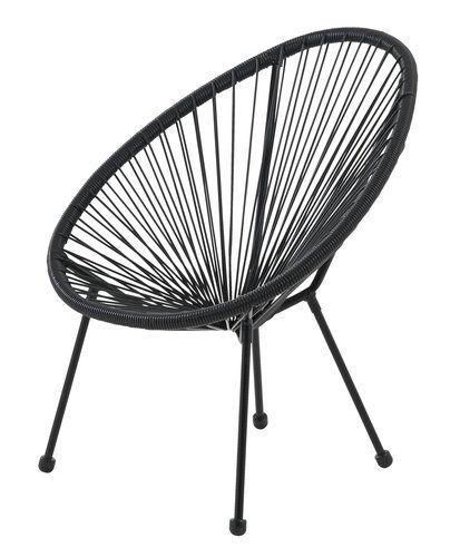 Krzesło UBBERUP sznurki | JYSK