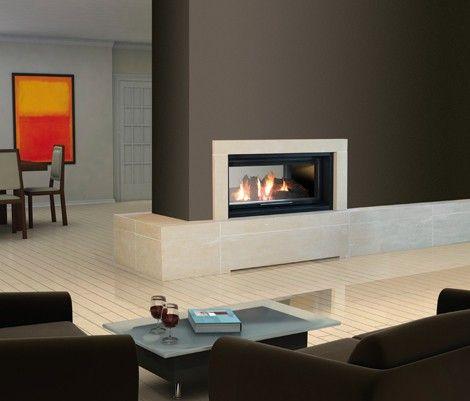 chimeneas modernas de diseo everest con recuperador de calor altas chimeneas modernas