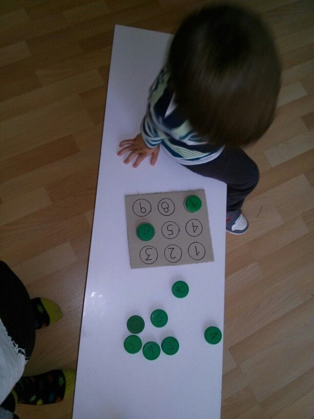 Puzzle with numbers