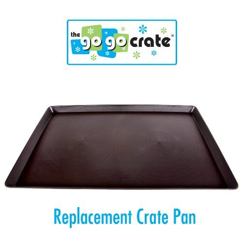 GoGo Pet Products Plastic Dog Crate with Replacement PanTray 30Inch ** Click image to review more details.