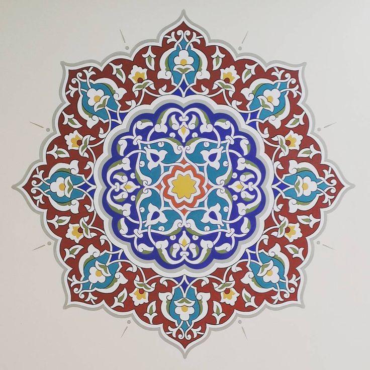 #manasüniversitesi #kalemişi #motif #süsleme #art #desing #fresco #nakış #gelenekselelsanatları #bişkek #satukbuğrahancami