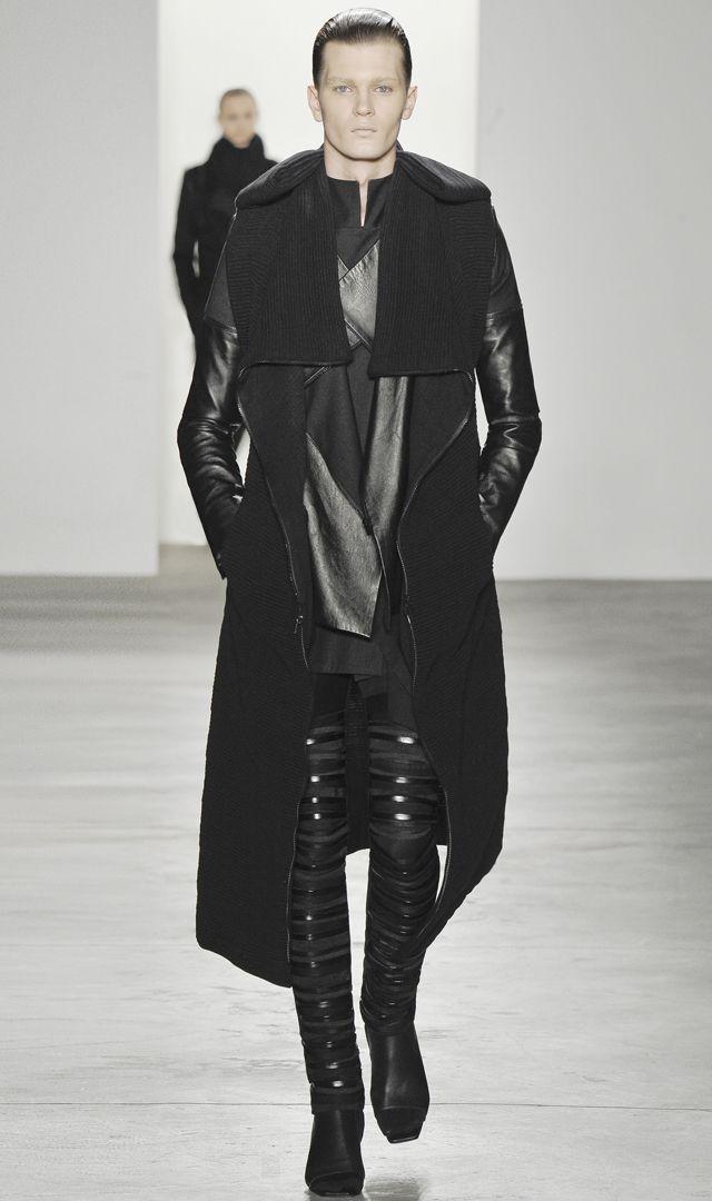 Rad Hourani: Black Clothing, Men In Black, Men Style, Rad Hourani, Men Fashion, Long Jackets, Black Futuristic, Fashion Black, Menswear Runway