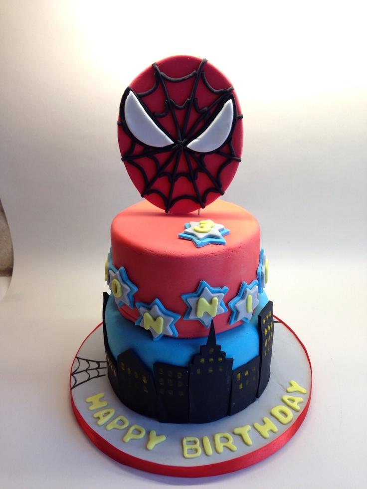 65 Best Spider Man Cakes Images On Pinterest