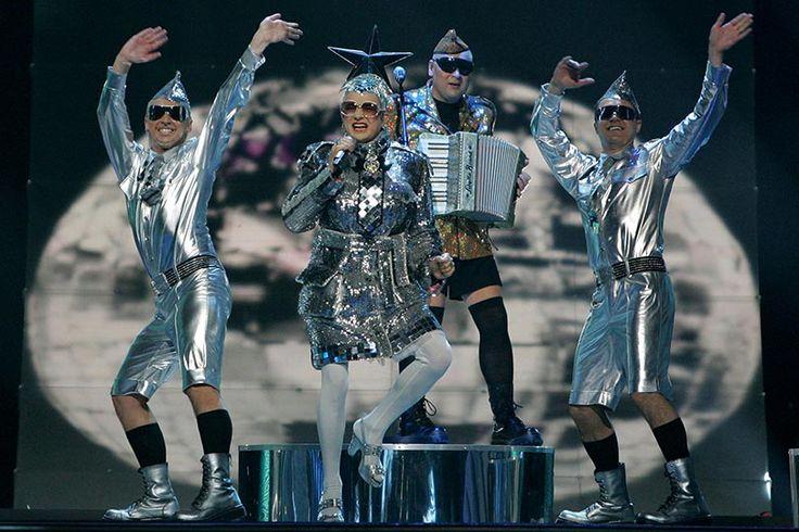 Eurovision tacky costume