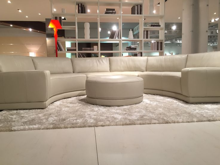 Genuine Leather - Made in Italy Best selling round sectional NOW AVAILABLE TO SPECIAL ORDER : best selling sectionals - Sectionals, Sofas & Couches