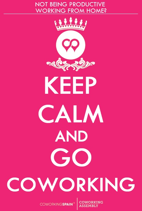 Keep calm and go coworking