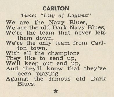 Carlton Football Club Theme Song