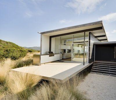 Cloudy Bay Bruny Island Tasmania by 1+2 Architecture eco-friendly Beach house