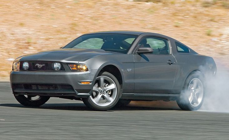 2010 Ford Mustang GT HIGHS  Lighter and tighter in every way, good visibility, fab 1-2-3 turn signals, the king of V-8 roars.  LOWS  Only a five-speed, capless fuel filler frequently spills, smallest fuel tank.  VERDICT  Yeah, we're shocked, too, but this Mustang rocks.
