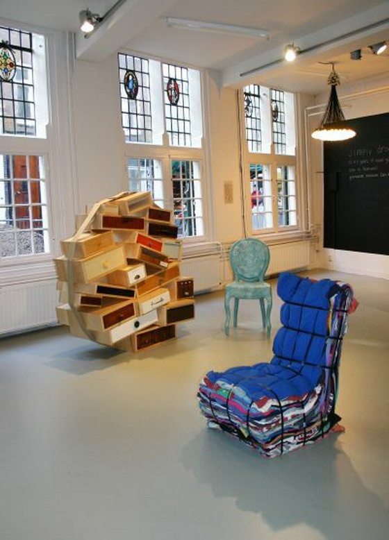 Unique Recycling Products Furniture From Amsterdam