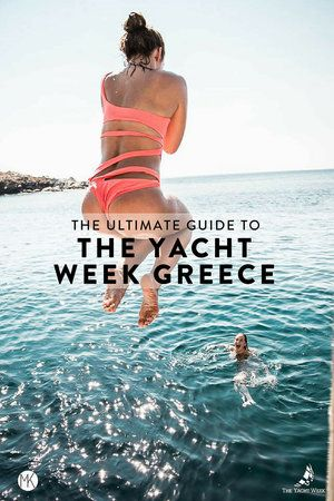 Thinking about doing The Yacht Week? Here's the ultimate guide to The Yacht Week Greece! Full ofday parties, beautiful sunsets in jaw-dropping locations, and the world famous Nikki Beach party!