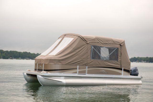 Pontoon Boat Enclosures | ... 20 SL Pontoon Boat || Check out the New Bennington Pontoon Boat