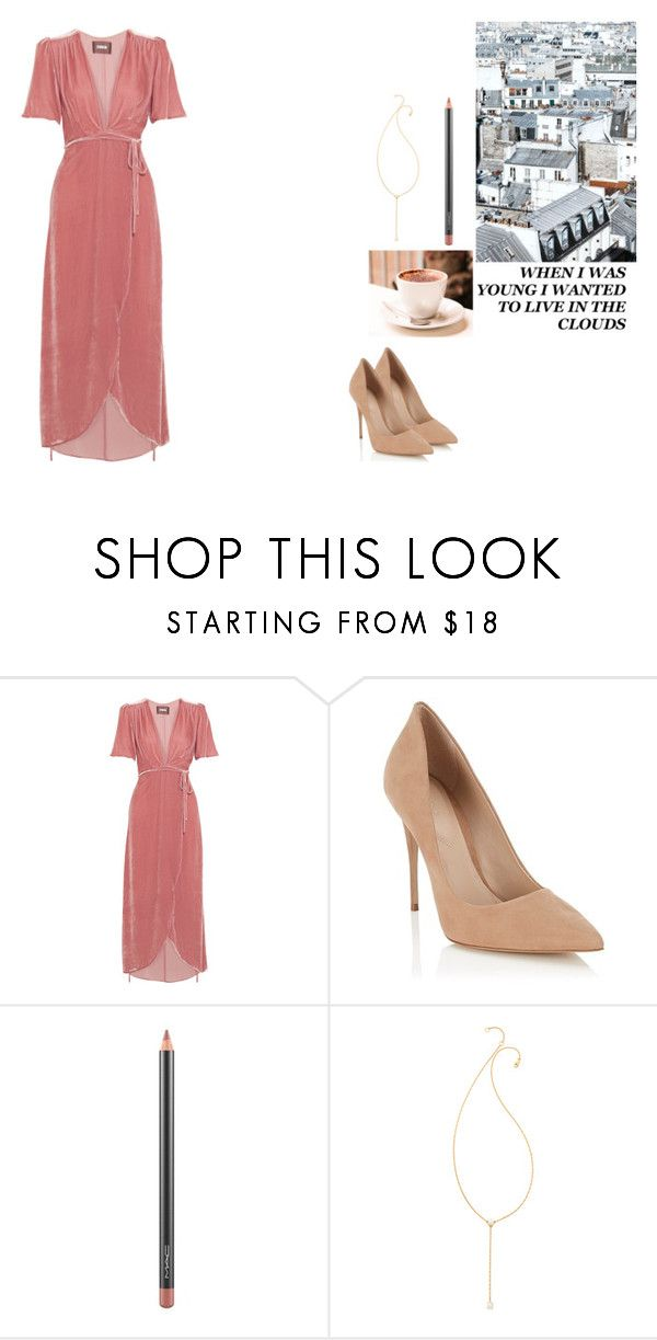 """Hot In Herre"" by loicismylover ❤ liked on Polyvore featuring Reformation, Lipsy, Prada, Again, MAC Cosmetics and Jennifer Zeuner"