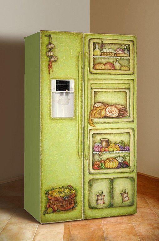 декупаж переделка кухни