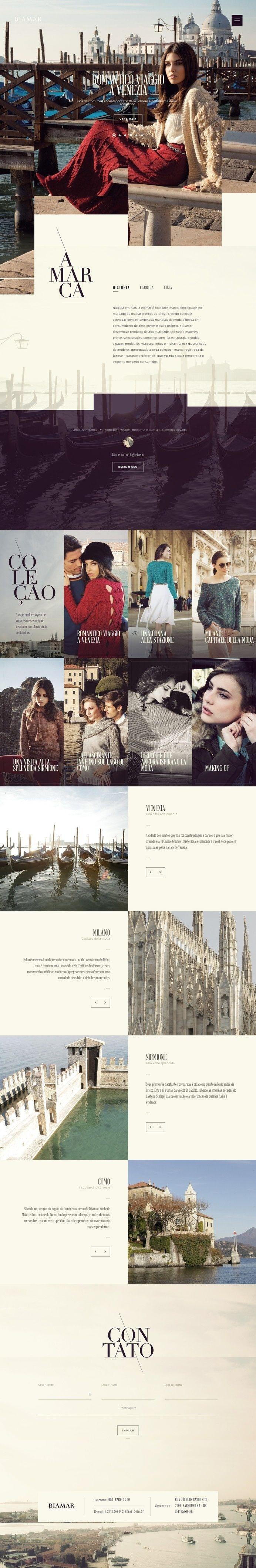 Biamar – Flat UI Design Website in Website