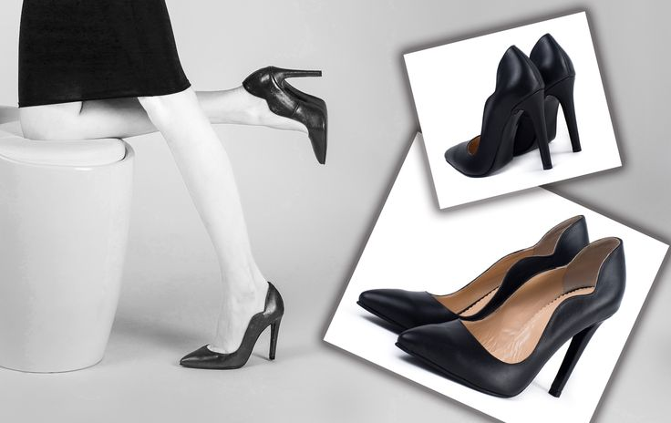 The black Aria shoes are perfect for elegant, office or chic outfits <3