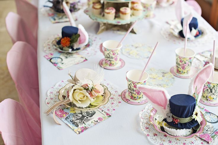 Alice in Wonderland #PartyDecor