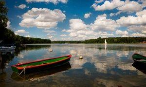 Oferta: Wielkopolska - Jezioro Ślesińskie: 2-8 dni dla 2-5 osób z wyżywieniem, tenisem, mini golfem i więcej w Ośrodku Gwarek, w Ośrodek Szkoleniowo-Wypoczynkowy Gwarek. Cena: 179zł